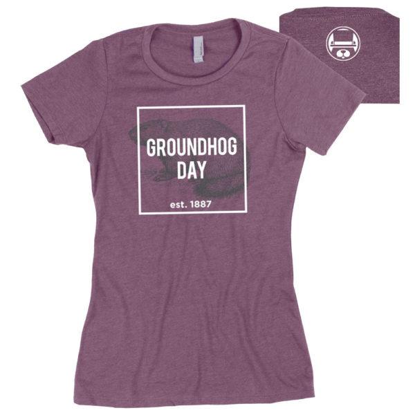 Ladies Groundhog Day Tee
