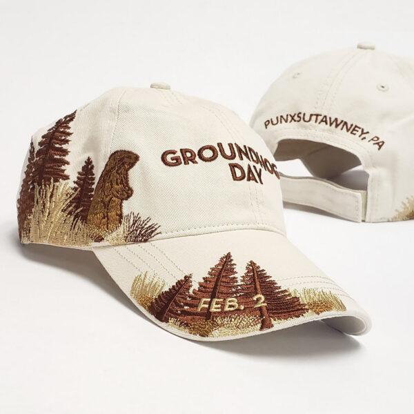 groundhog day wildlife hat